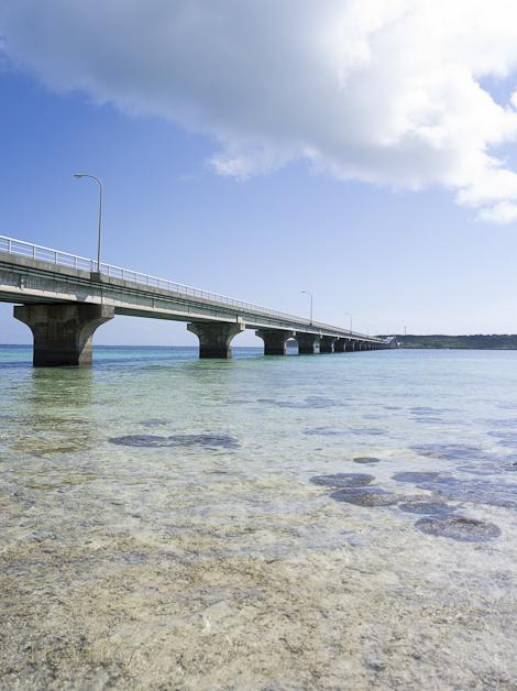 Kurima Great Bridge - Miyako Island, Okinawa, Japan