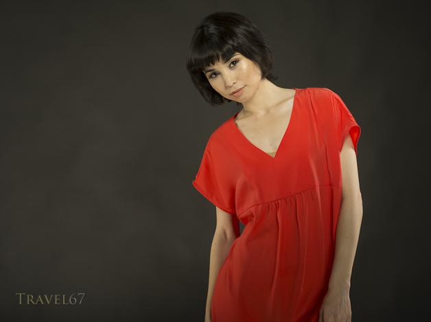 In the studio - Yuki