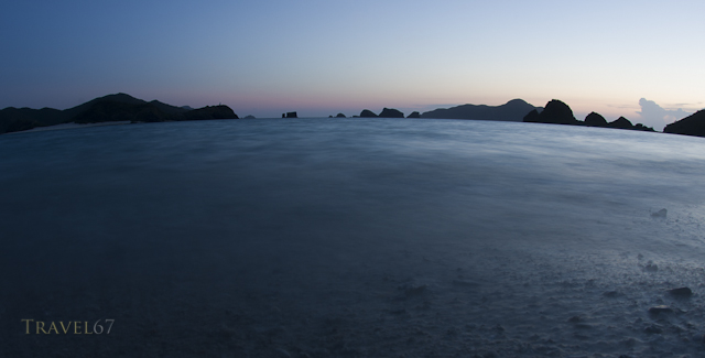 Dusk on Zamami- Kerama Islands, Okinawa