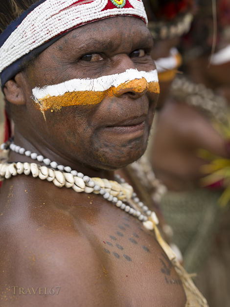 Gilpaunek Kolkole, Ele Culture Group, Chimbu Province - Goroka Show, Papua New Guinea