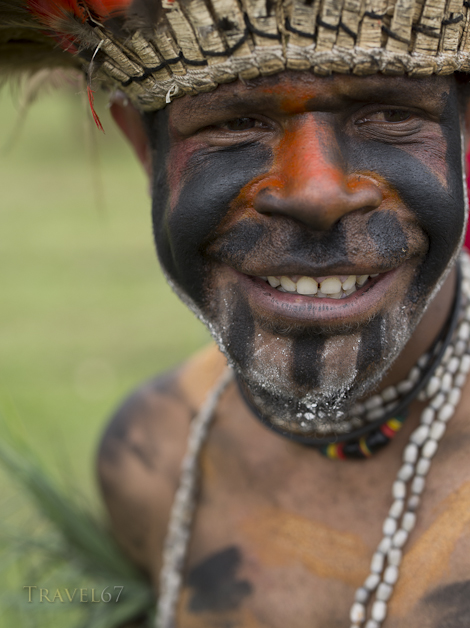 Koteka ( Penis Gourd ) usage - Goroka Show, Papua New Guinea