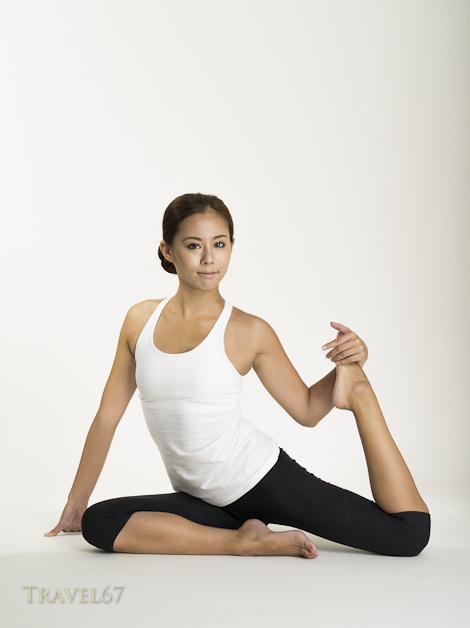 Yoga Instructor Mayumi Fujita