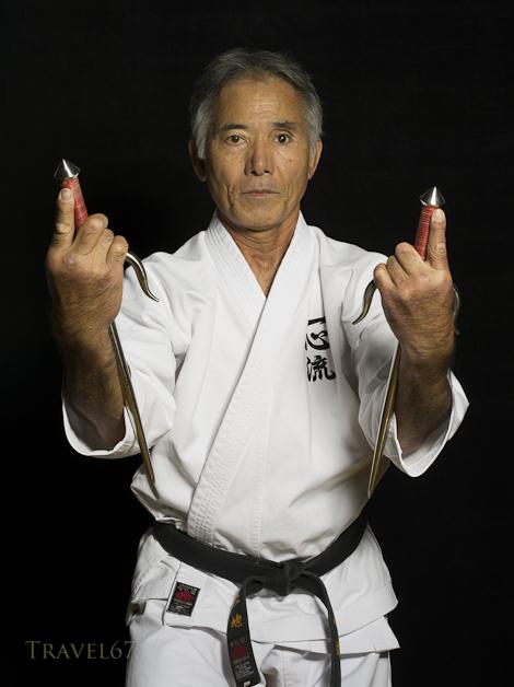 Tsuyoshi Uechi 8th dan Isshinryu Karate