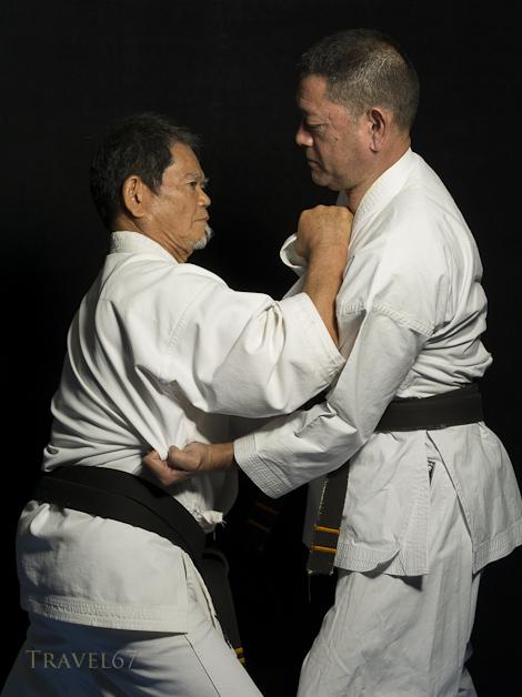 Satoshi Toyama 9th dan & Zenshu Toyama 10th dan Goju Ryu Karate
