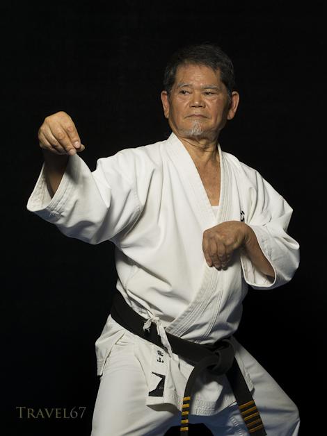 Zenshu Toyama 10th dan Goju Ryu Karate