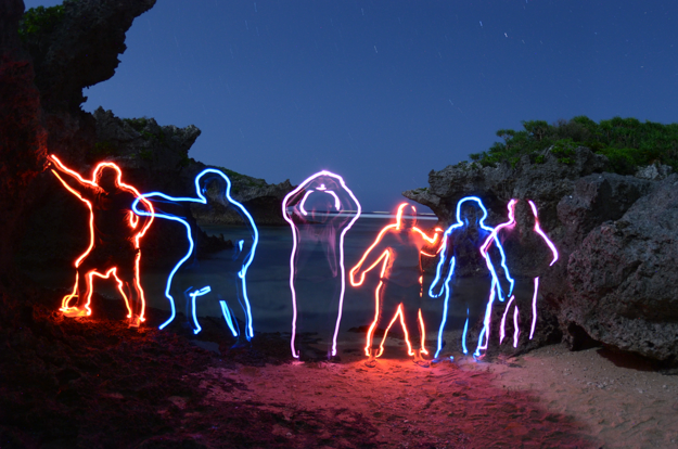 Light Painting 2013 Michael Easley