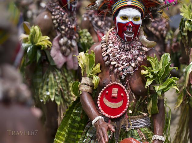 Tokua Culture Singsing Group, Jiwaka Provice - Goroka Show, Papua New Guinea
