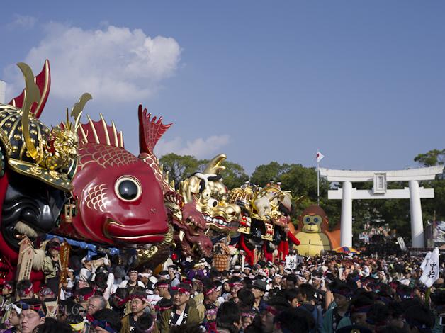 Karatsu Kunchi Festival, Karatsu City, Saga Prefecture, Japan