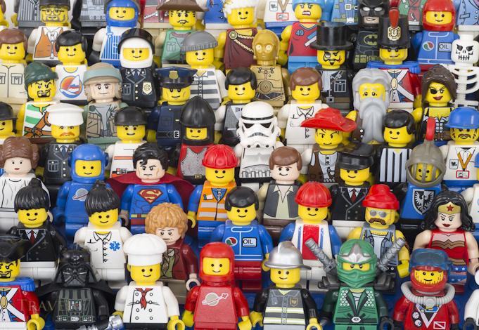 Lego Minifigure 2013