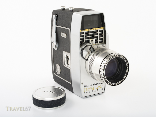 Bell & Howell Model 414PD Director Series Zoomatic 8mm Movie Camera