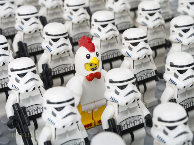 Lego Stormtroopers and Fenton.