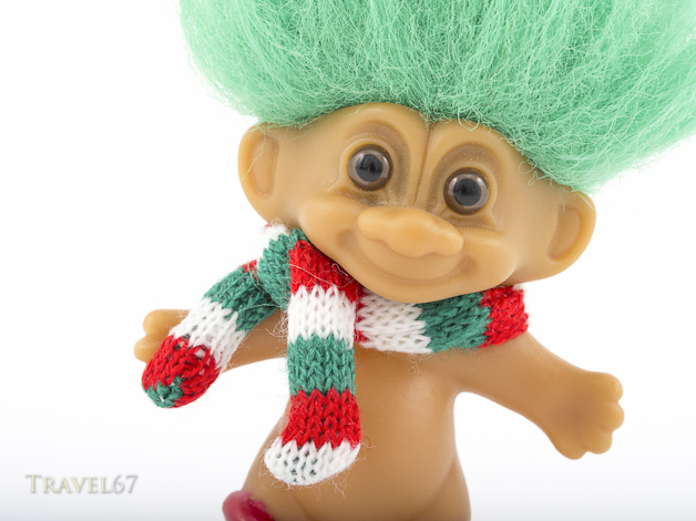 Troll Doll aka Dam Doll first created 1959 by Thomas Dam.