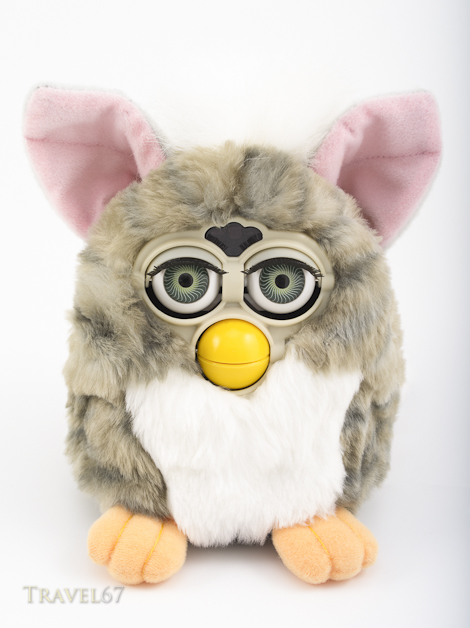 1998 Furby electronic robotic toy by Tiger Electronics