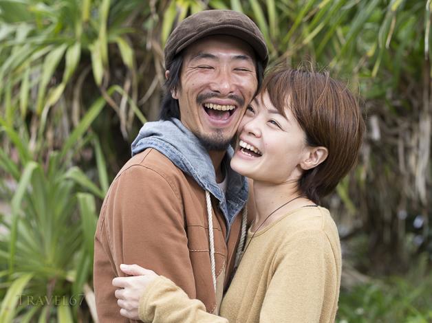 Umi Ishimn Yamaguchi and Ryota Couple photo shoot at Maeda
