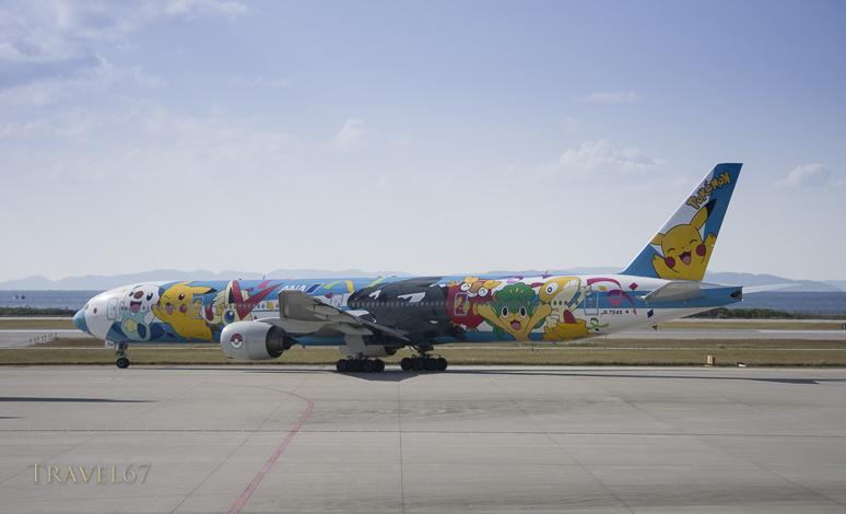 ANA Boeing 777-381 JA754A Pokemon Plane
