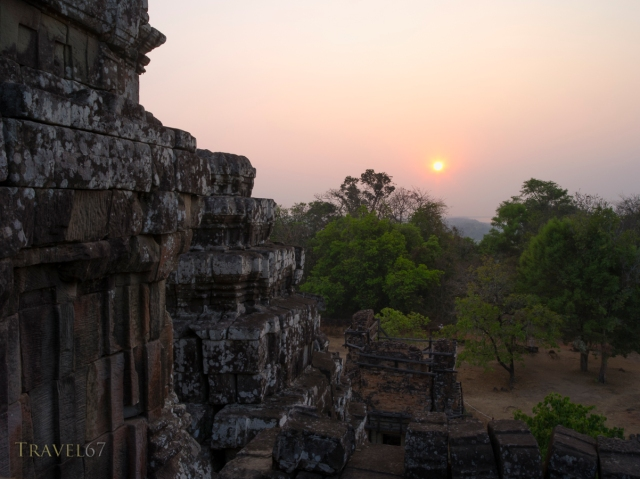 Sunset from Phnom Bakheng, Siem Reap, Cambodia