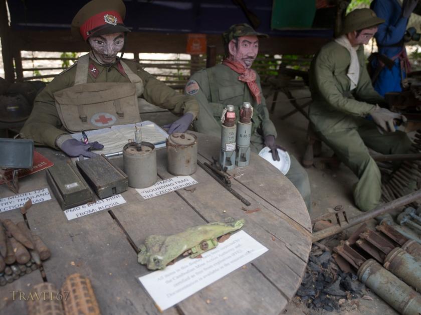 Cambodia Landmine Museum est. by Aki Ra. Siem Reap, Cambodia