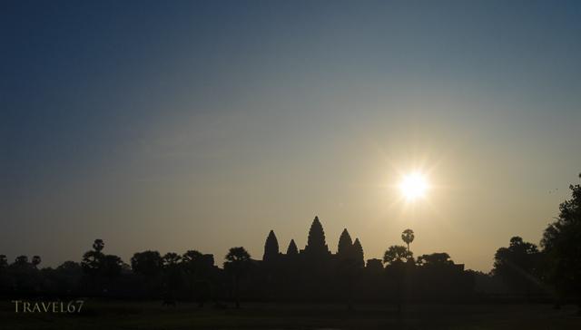 Dawn at Angkor Wat, Cambodia