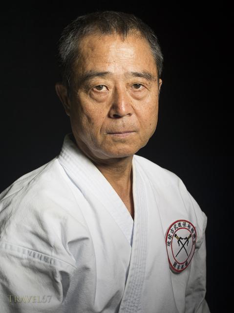 Kobudo Master Yukio Kuniyoshi. Kaicho of Ryukyu Kobudo Hozon Shinko Kai.