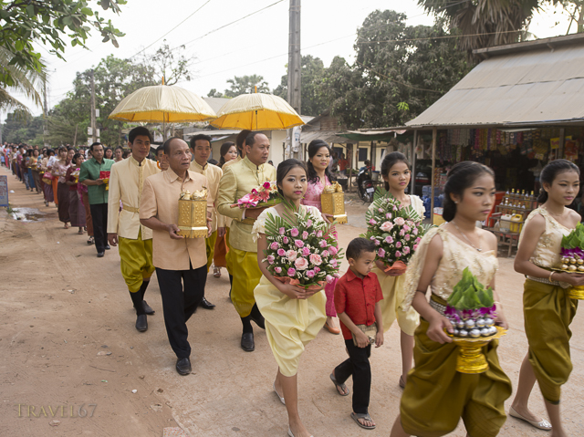 Cambodian Wedding of Suon Kosal (groom) and Pao Sara (bride) Siem Reap, Cambodia
