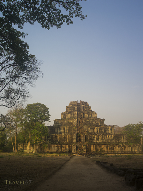Prasat Thom the principal monument of Koh Ker  127 NE of Siem Reap, Cambodia