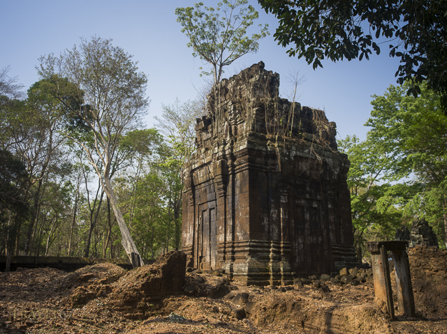Prasat Banteay Pir Chean part of Koh Ker