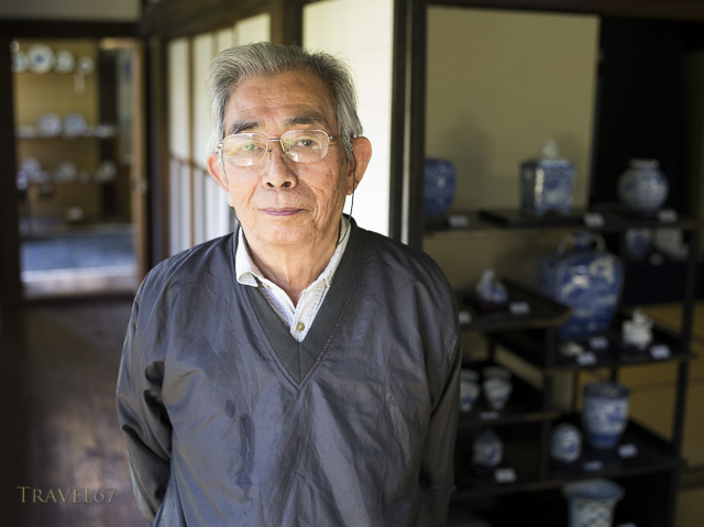 Hitachi Tsuji 常陸 辻  15th generation ceramic master, Arita, Saga Prefecture, Japan.