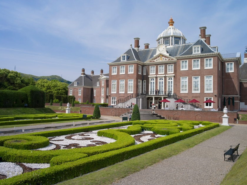 Huis Ten Bosch, a theme park in Sasebo, Nagasaki, Japan.