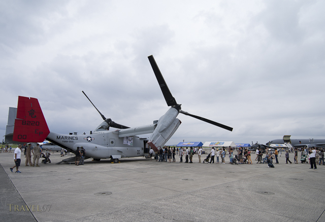 V-22 Osprey at Futenma Flightline