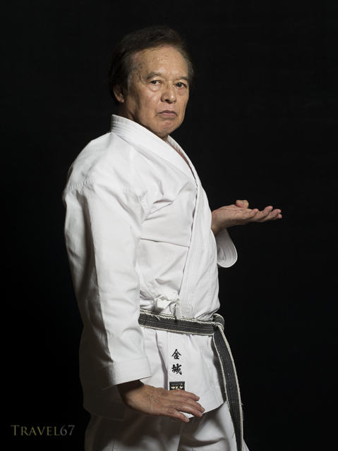 Tsuneo Kinjo Hanshi 9th Dan Okinawa Goju-ryu Karate - Jundokan