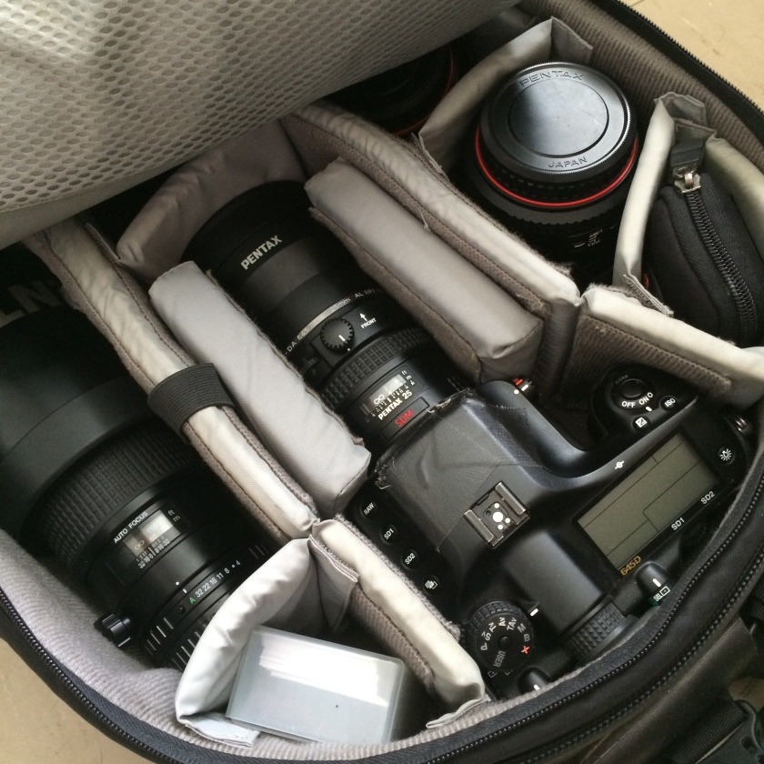 A photographer's workout gear.