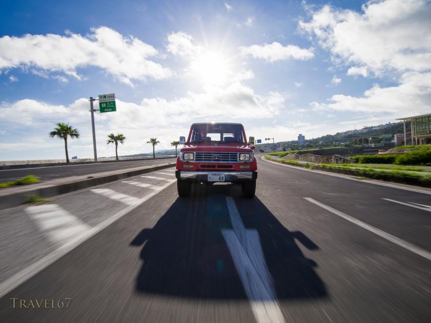 Cruising Route 58, Okinawa, Japan
