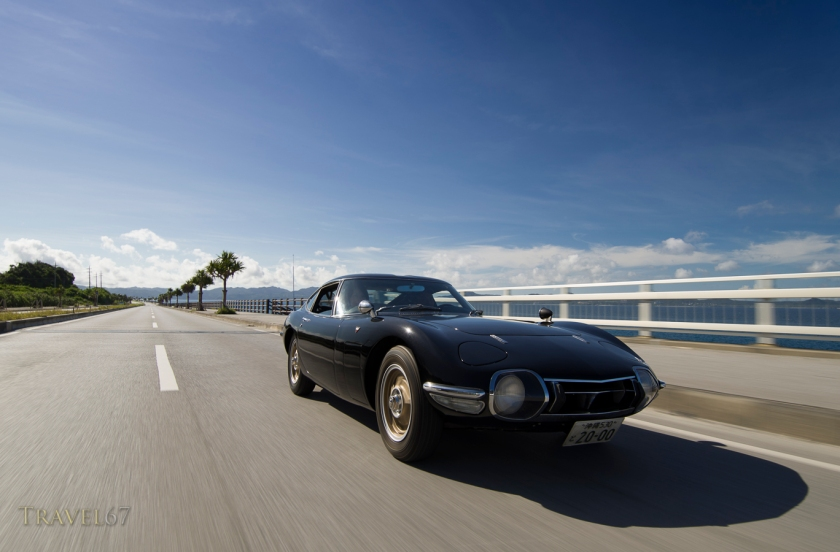 Cruising in the Toyota 2000GT