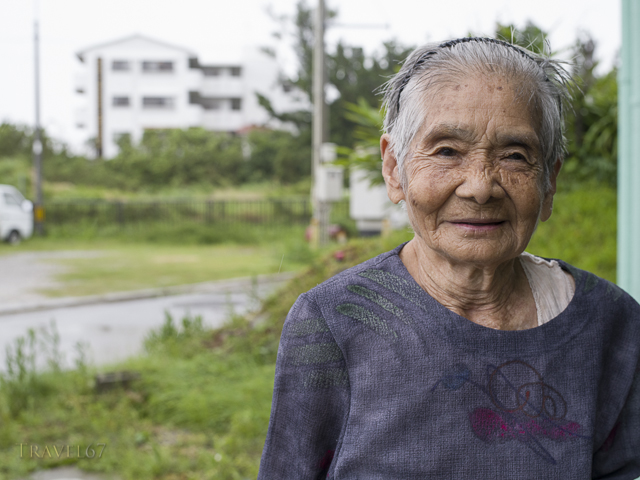 Typhoon Neoguri - 93-year-old Tokumura-san has seen it all before!