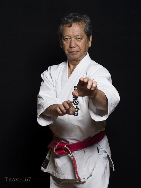 Choko Kyuna, Hanshi 10th Dan Okinawa Shorin-ryu,  Risshi Kan Dojo