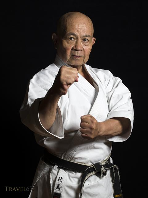 Minoru Higa Hanshi 10th Dan, Kaicho of Kyudokan