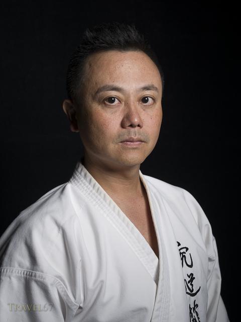 Koyu Higa, 4th dan Shorin-ryu Kyudokan