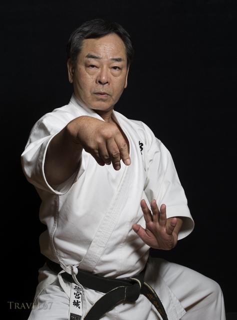 Masaaki Ikemiyagi, Hanshi 9th dan, Goju-ryu Okinawa Meibukan