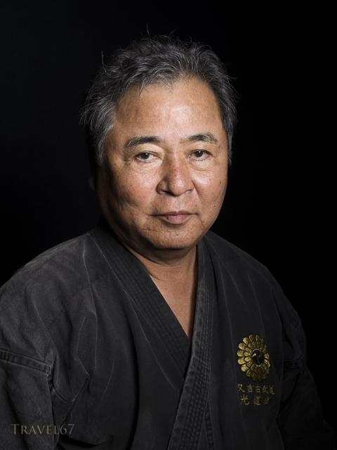 Seisho Itokazu  9th Dan  Matayoshi Kobudo