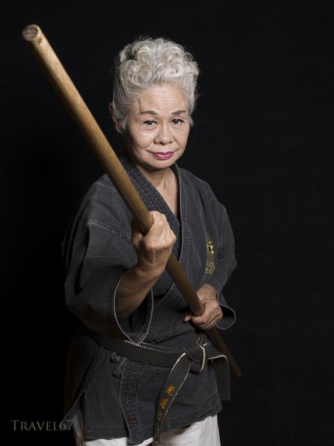 Kiyomi Yogi, 6th Dan Matayoshi Kobudo