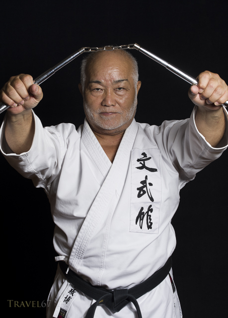 Masahiro Nakamoto - Hanshi 10th dan, Okinawa Dentou Kobudo