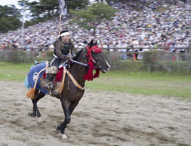 Soma Nomaoi Samurai Horseman Festival, Fukushima, Japan