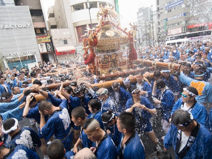 Fukagawa Festival, Tokyo, Japan