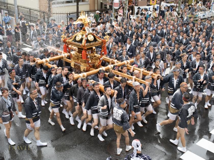 Fukagawa Hachiman Festival, Tokyo