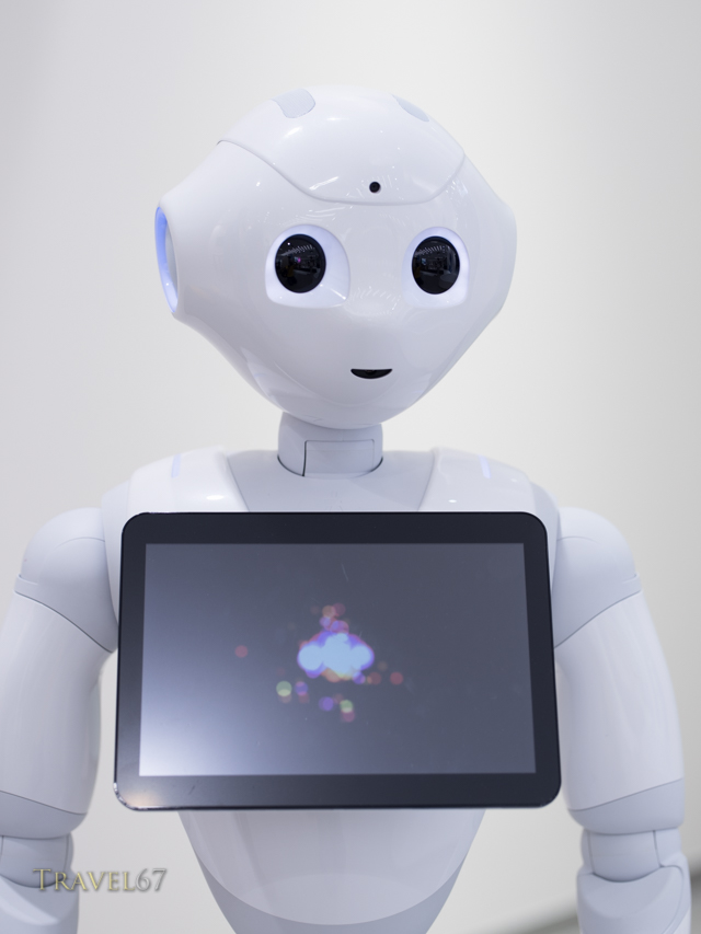 Pepper a humanoid robot by Aldebaran Robotics