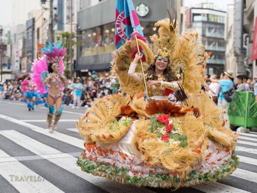 Asakusa Samba Festival, Tokyo
