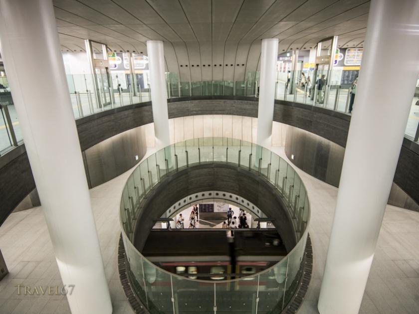 Roppongi Subway Station, Roppongi, Tokyo, Japan