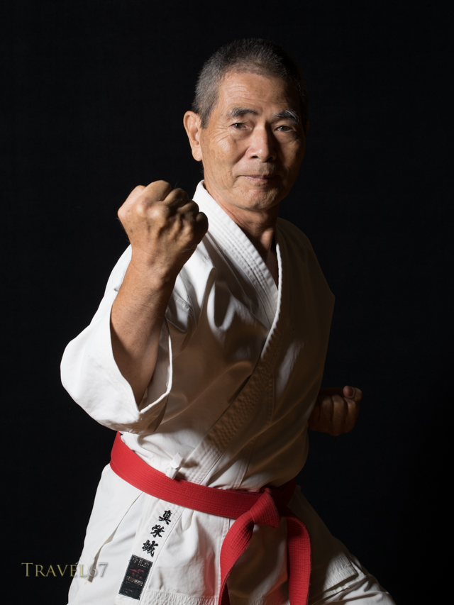 Morinobu Maeshiro, 9th dan Shorin-ryu Karate