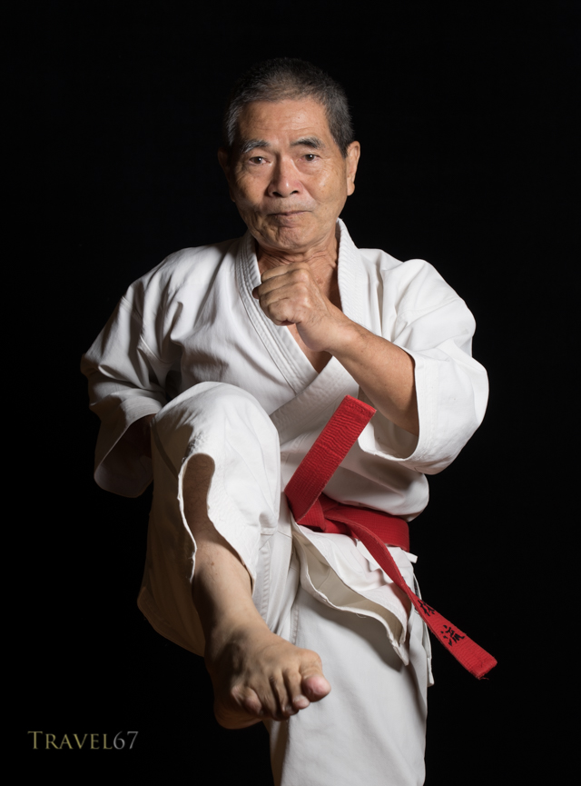 Morinobu Maeshiro, 9th dan Shorin-ryu Karate