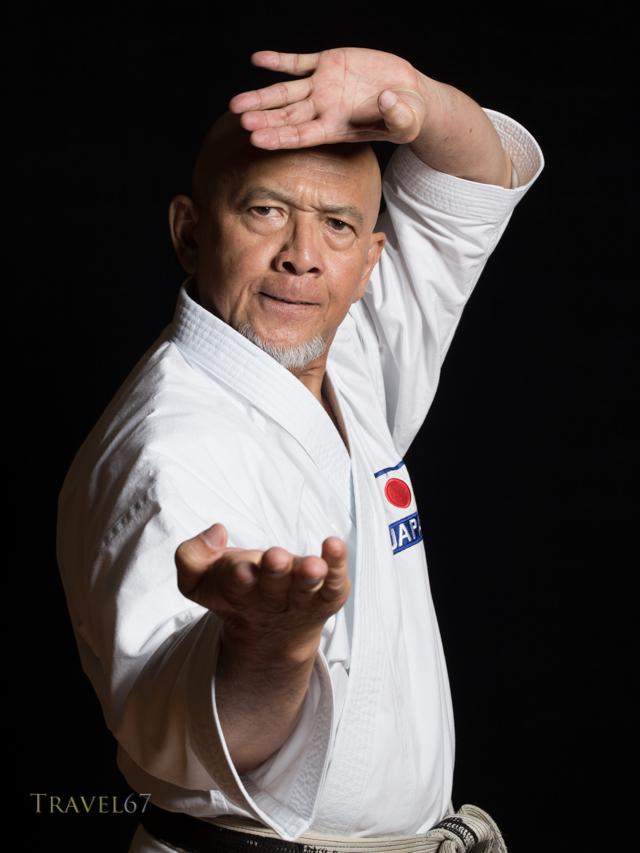 Tsuguo Sakumoto 9th dan Ryuei-ryu
